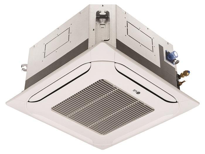 Kazetova klimatizacia stvorcestna lg