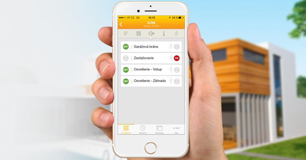 Aplikácia MyJABLOTRON (iOS, Android)